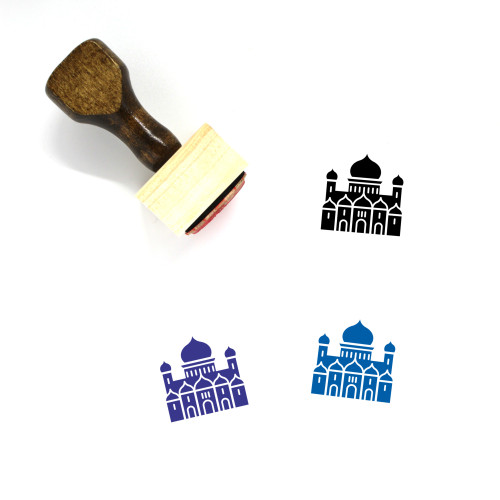 Cathedral Of Christ The Saviour Wooden Rubber Stamp No. 1