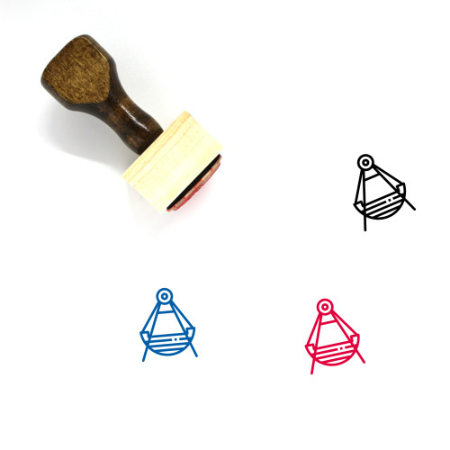Viking Wooden Rubber Stamp No. 41