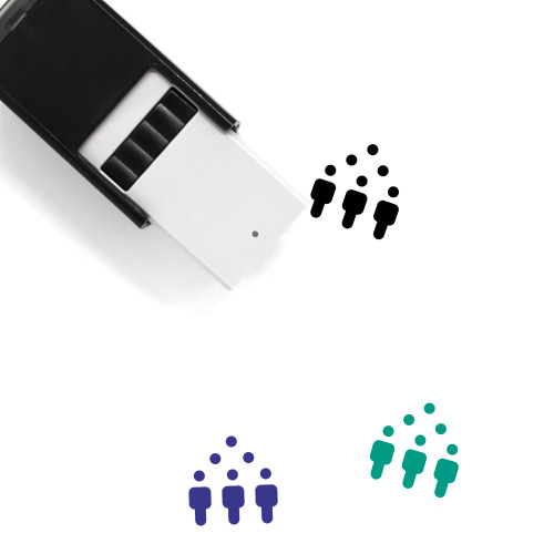 Team Self-Inking Rubber Stamp No. 195