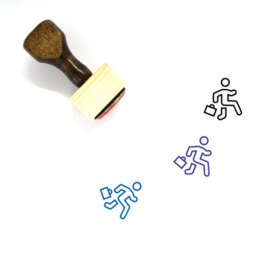 Career Wooden Rubber Stamp No. 41