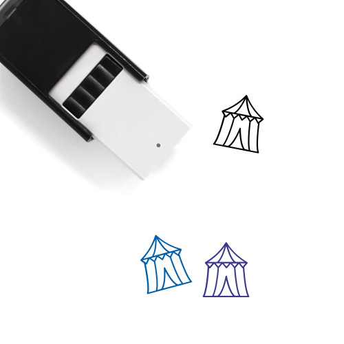 Circus Tent Self-Inking Rubber Stamp No. 39