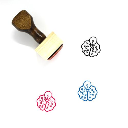 Intellect Wooden Rubber Stamp No. 27