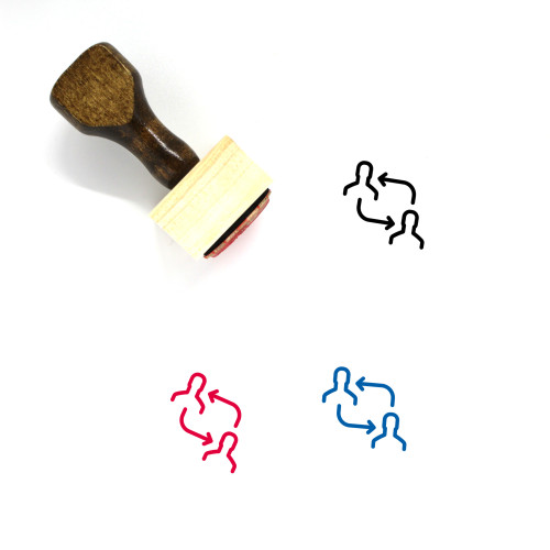 Replace Wooden Rubber Stamp No. 38