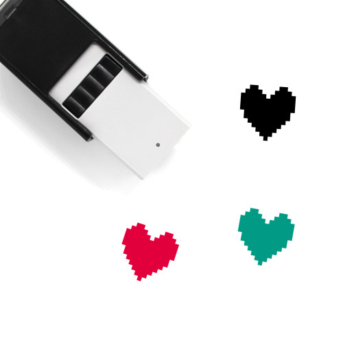 Heart Self-Inking Rubber Stamp No. 1509