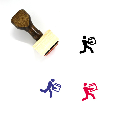 Delivery Wooden Rubber Stamp No. 65
