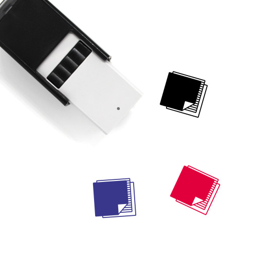 Fabric Swatches Self-Inking Rubber Stamp No. 1
