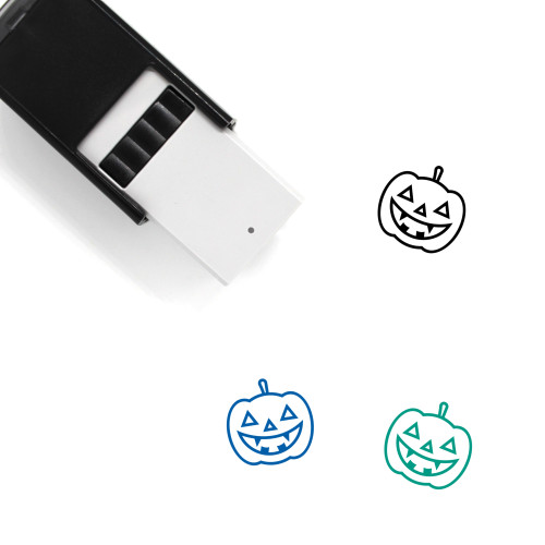Jack O' Lantern Self-Inking Rubber Stamp No. 111