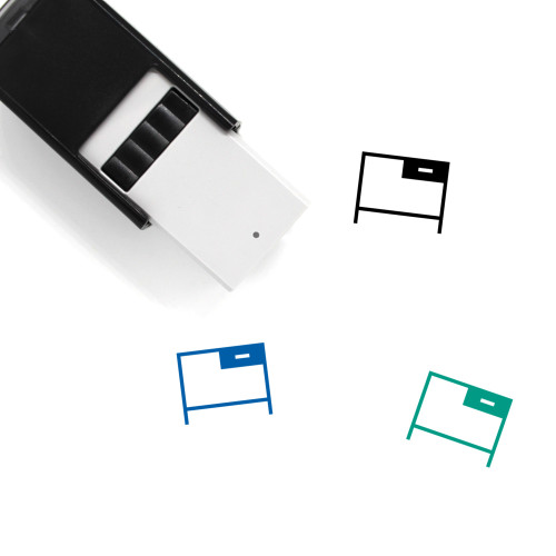 Office Self-Inking Rubber Stamp No. 93