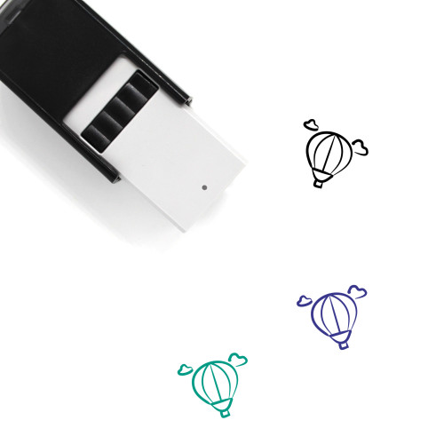 Air Balloon Self-Inking Rubber Stamp No. 36