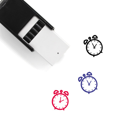 Alarm Clock Self-Inking Rubber Stamp No. 149
