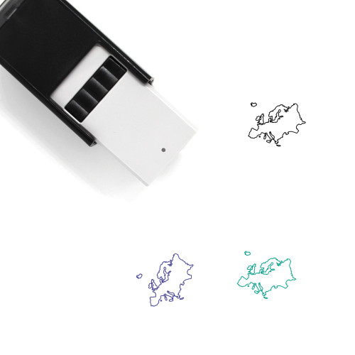 Europe Self-Inking Rubber Stamp No. 43