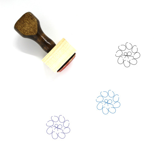 Decoration Wooden Rubber Stamp No. 317
