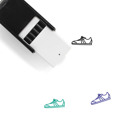 Sneaker Self-Inking Rubber Stamp No. 93