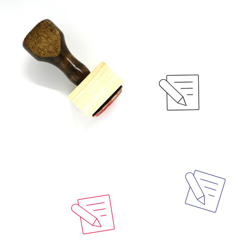 Edit Wooden Rubber Stamp No. 109