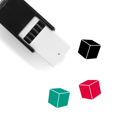 Cube Self-Inking Rubber Stamp No. 83