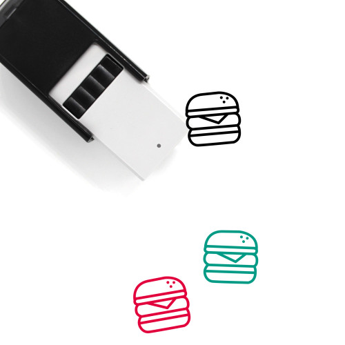 Food Self-Inking Rubber Stamp No. 191