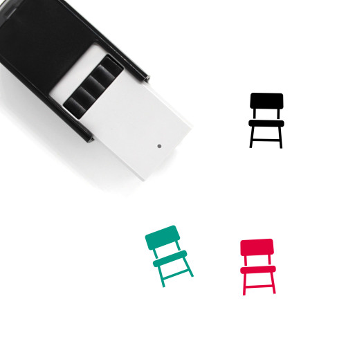 Chair Self-Inking Rubber Stamp No. 92