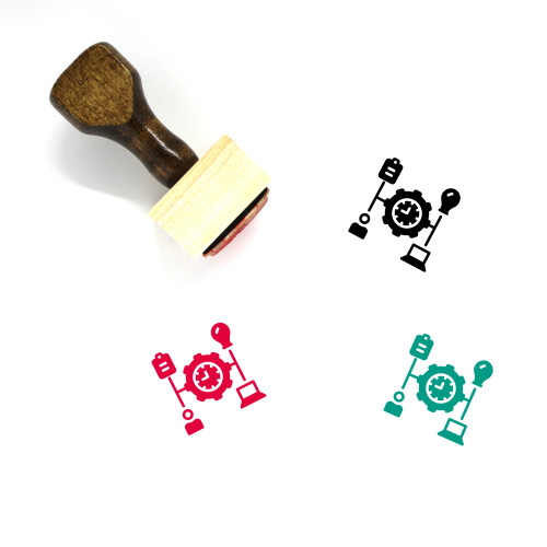Manage Wooden Rubber Stamp No. 3