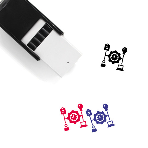 Manage Self-Inking Rubber Stamp No. 3