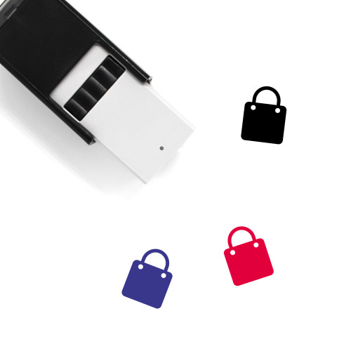 Shopping Bag Self-Inking Rubber Stamp No. 185