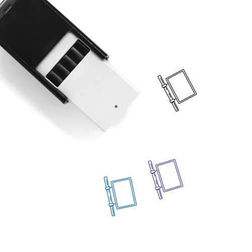 Lightbox Self-Inking Rubber Stamp No. 3