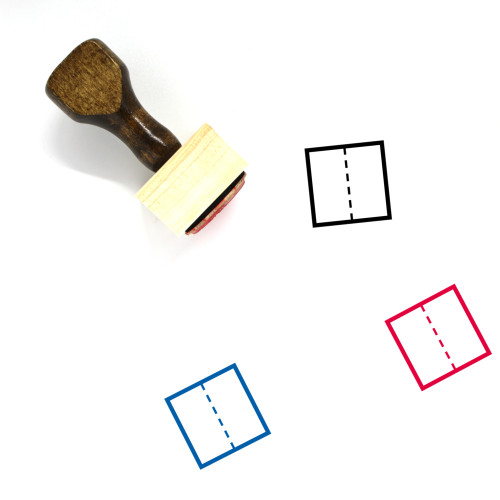 Division Wooden Rubber Stamp No. 10