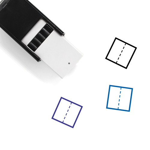 Division Self-Inking Rubber Stamp No. 10