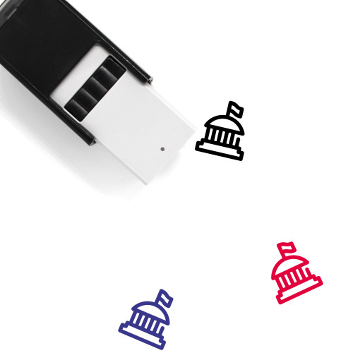 Government Self-Inking Rubber Stamp No. 129