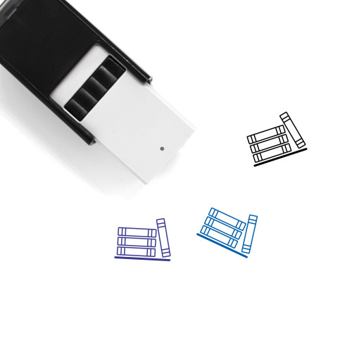 Books Self-Inking Rubber Stamp No. 126
