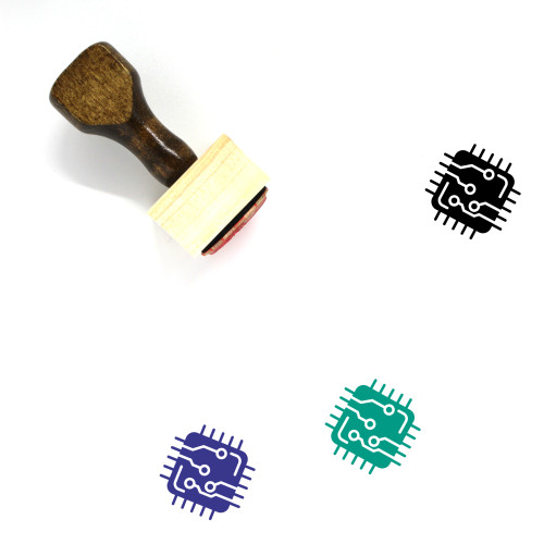 Hardware Wooden Rubber Stamp No. 3