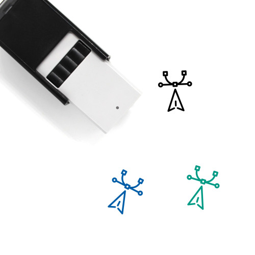 Vector Self-Inking Rubber Stamp No. 50