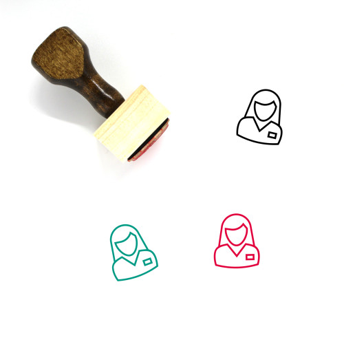 Manager Wooden Rubber Stamp No. 108