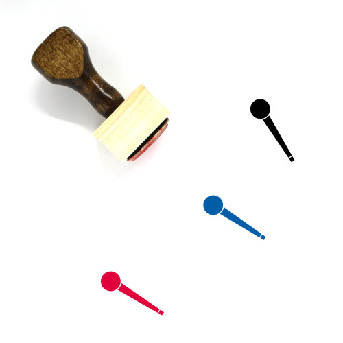 Scepter Wooden Rubber Stamp No. 8