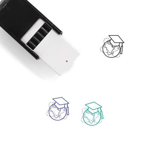 Online Education Self-Inking Rubber Stamp No. 11