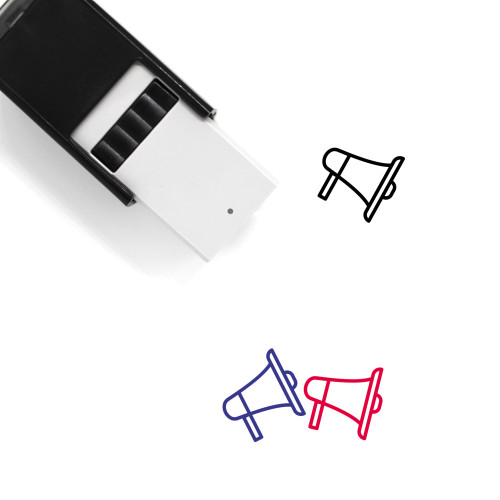 Megaphone Self-Inking Rubber Stamp No. 113