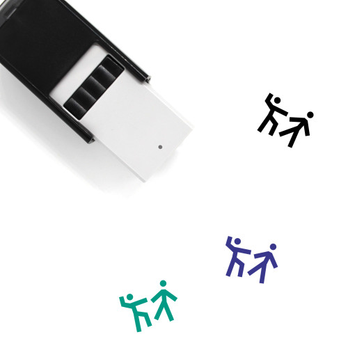 Fight Self-Inking Rubber Stamp No. 74