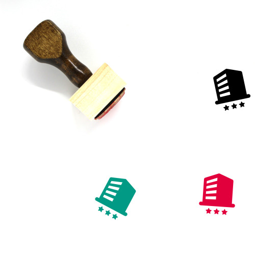 Company Wooden Rubber Stamp No. 43