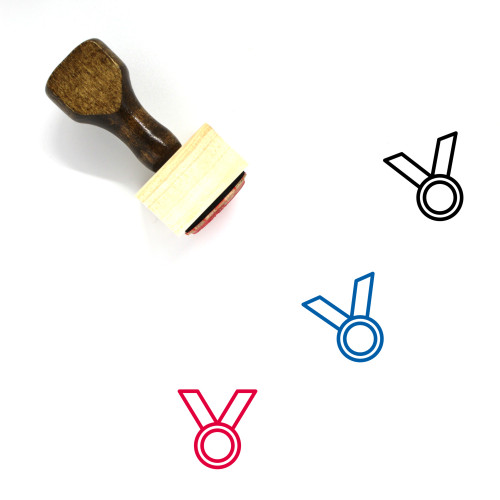 Award Wooden Rubber Stamp No. 180
