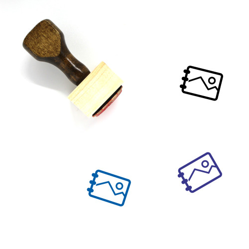 Image Wooden Rubber Stamp No. 160