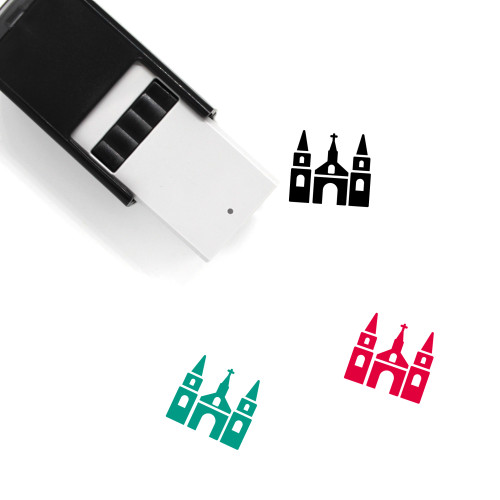 Church Self-Inking Rubber Stamp No. 221