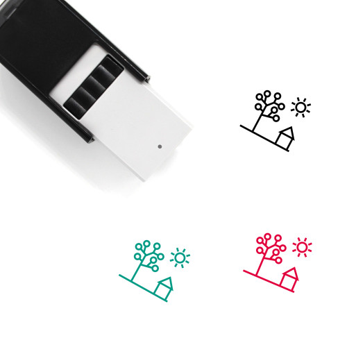 Spring Self-Inking Rubber Stamp No. 76