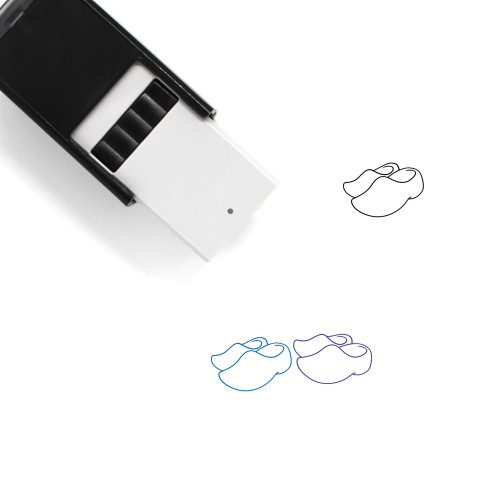Clogs Self-Inking Rubber Stamp No. 3