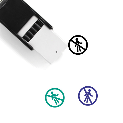 Entry Self-Inking Rubber Stamp No. 37