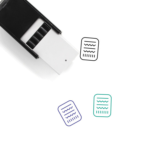 Rosetta Stone Self-Inking Rubber Stamp No. 2
