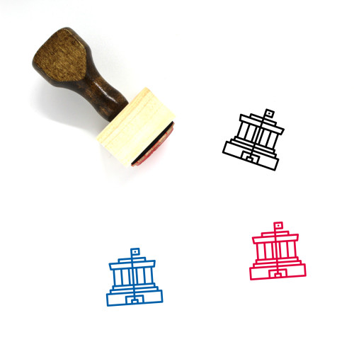 Ho Chi Minh Wooden Rubber Stamp No. 2