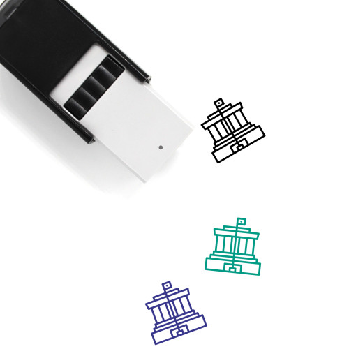 Ho Chi Minh Self-Inking Rubber Stamp No. 2