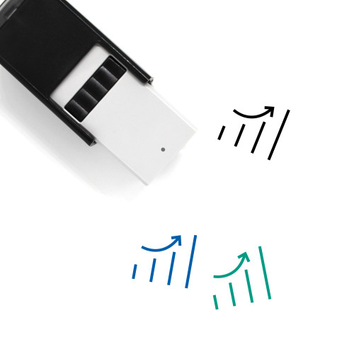 Growth Chart Self-Inking Rubber Stamp No. 39
