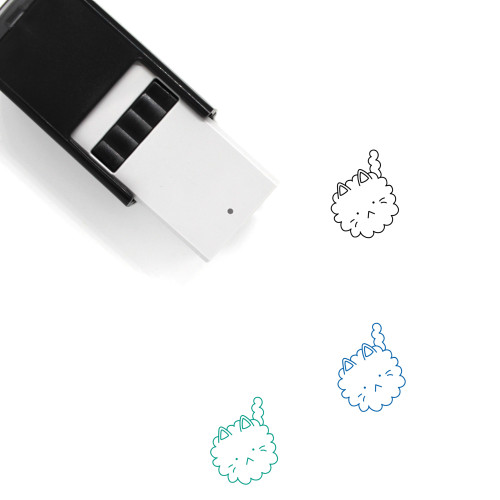 Cloud Cat Self-Inking Rubber Stamp No. 1