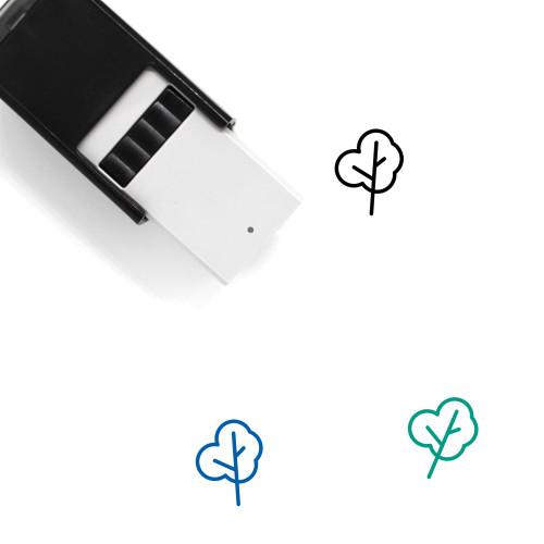 Tree Self-Inking Rubber Stamp No. 39