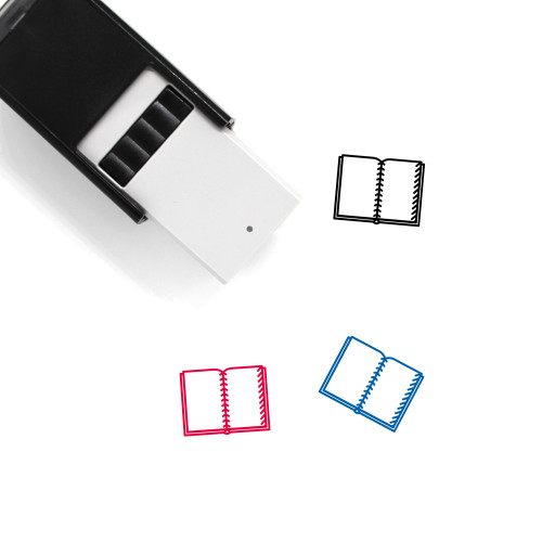 Notebook Self-Inking Rubber Stamp No. 106